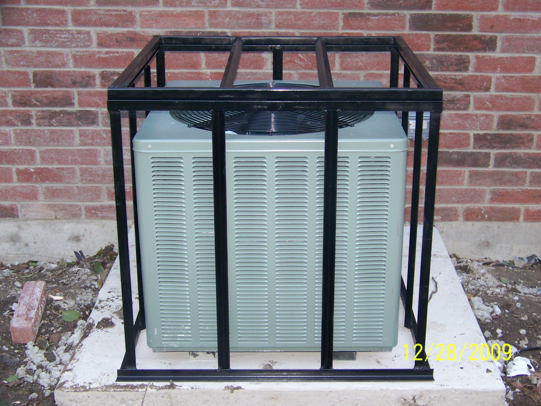 Air Conditioner Cages Prices http://www.pic2fly.com/AC Cages Texas  #44495E